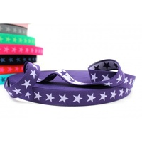 Waistband Elastic, Euro 20mm Star Violet/Lilac