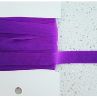 Soft Foldable Elastic, Euro 15mm, Purple