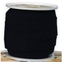 Elastic, Birch High Density 20mm - Black