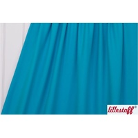 Lillestoff, Turquoise, Solid, Organic Jersey
