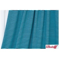 Lillestoff, Dark Blue/Turquoise, Stripes
