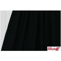 Lillestoff, Organic GOTS French Terry, Solid Black