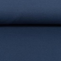 Swafing, Oeko-Tex Solid Ribbing, Denim Blue