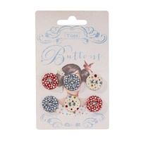 Fabric Buttons 17mm