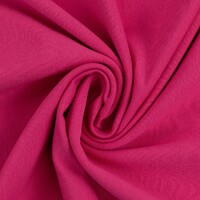 European Ribbing, Oeko-Tex, Solid, Bright Pink