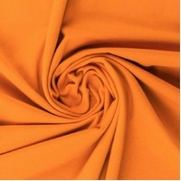 European Ribbing, Oeko-Tex, Solid, Orange