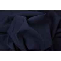 Euro Jogging Sweater Knit Solid (A) Dark Blue Navy