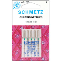 Schmetz Needles, Quilting 130/705 H-Q Multi Sizes