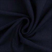 European Ribbing, Oeko-Tex, Solid, Dark Navy