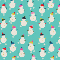 Dashwood Studio, Merry & Bright, Snowman Aqua