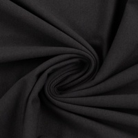 European Cotton Elastane Jersey, Solid, Oeko-Tex, Dark Charcoal Grey