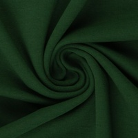 European Ribbing, Oeko-Tex, Solid, Dark Green