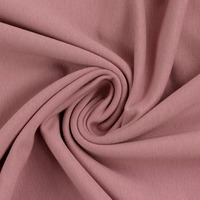 European Cotton Elastane Jersey, Solid, Oeko-Tex, Rose