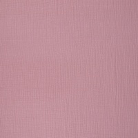 European Double Gauze, Dusty Rose Pink