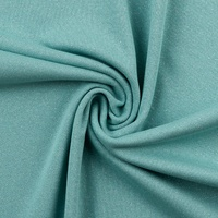 European Ribbing, Lurex, Mint Green/Silver Sparkle