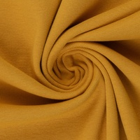 European Ribbing, Oeko-Tex, Solid, Light Ochre