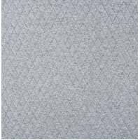 European Quilted Knit, Diamonds, Melange Light Grey