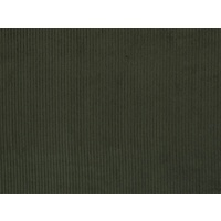 European Wide Corduroy, Plain, Khaki Green