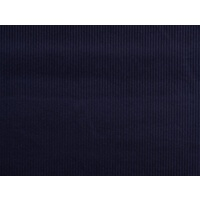 European Wide Corduroy, Plain, Dark Blue