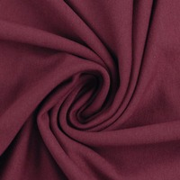 European Knit, Oeko-Tex French Terry, Solid, Burgundy