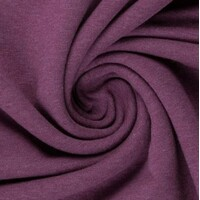 European Ribbing, Oeko-Tex, Melange Purple