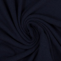 European Knitted Brushed Cotton, Dark Blue