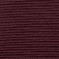 European Fine Ribbed Jersey, Burgundy