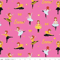 Riley Blake Designs, Emma Dancing Pink