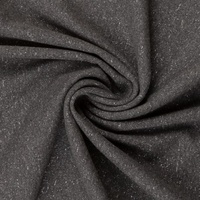 European Ribbing, Lurex, Dark Grey/Silver Sparkle
