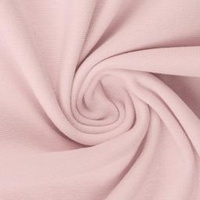 European Knit, Oeko-Tex French Terry, Solid, Pastel Pink