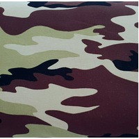European Cotton Elastane Jersey, Oeko Tex, Camo Green