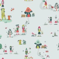 Art Gallery Fabrics, Dew & Moss, The Meadow Fellows in KNIT