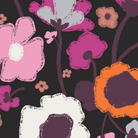 Art Gallery Fabrics, City Loft Fusion, Brave Bloomed City, RAYON