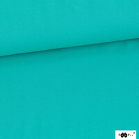 PaaPii Design, GOTS Organic Jersey Solid Turquoise