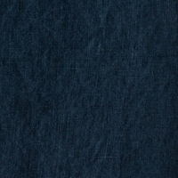 European Linen, Plain, Navy