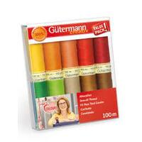 Gutermann, Sewing Thread Set - Inge's Favourite Colours