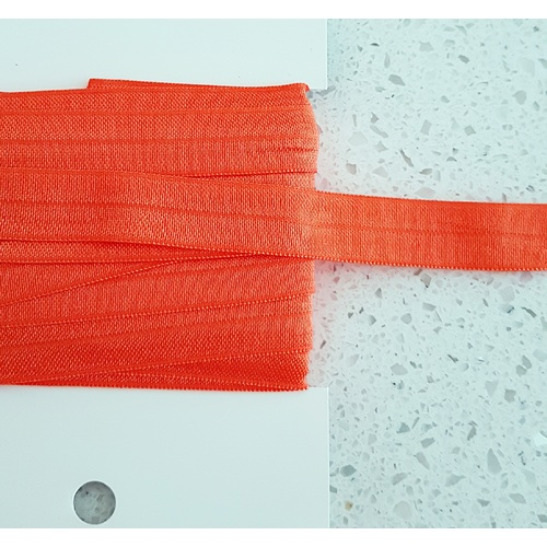 Soft Foldable Elastic, Euro 15mm, Orange